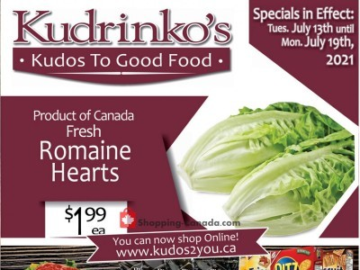 Kudrinko's Outdated Flyer Thumbnail