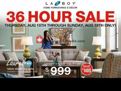 La-Z-Boy Outdated Flyer Thumbnail