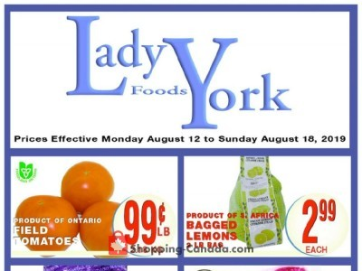 Lady York Foods Outdated Flyer Thumbnail