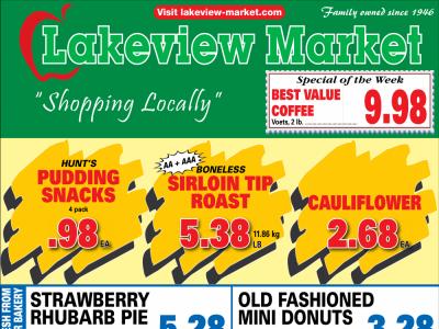 Lakeview Market Flyer Thumbnail