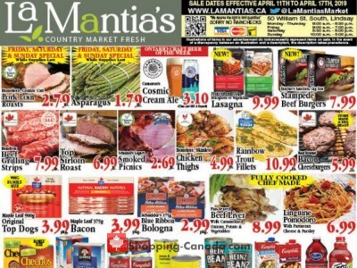 Lamantia's Country Market Outdated Flyer Thumbnail
