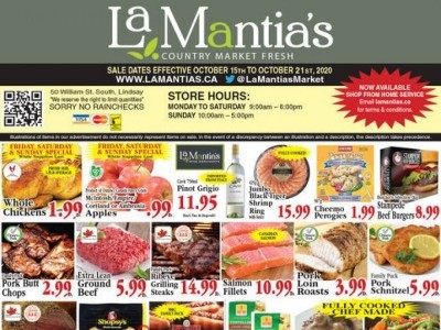 Lamantia's Country Market Flyer Thumbnail