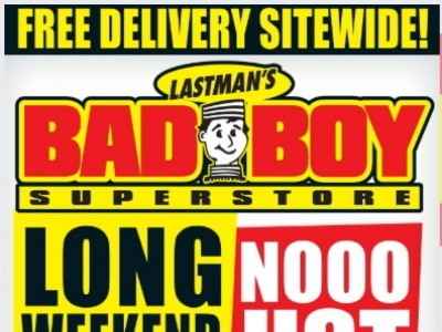 Lastman's Bad Boy Outdated Flyer Thumbnail