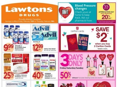 Lawtons Drugs Flyer Thumbnail