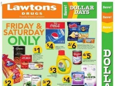 Lawtons Drugs Flyer Thumbnail