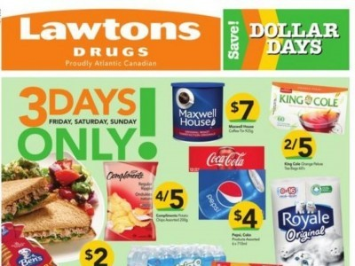 Lawtons Drugs Outdated Flyer Thumbnail