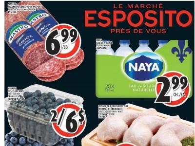 Le Marché Esposito Flyer Thumbnail