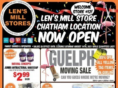 Len's Mill Stores Outdated Flyer Thumbnail