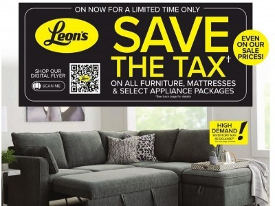 Leon's Furniture Outdated Flyer Thumbnail