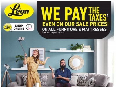Leon's Furniture Flyer Thumbnail