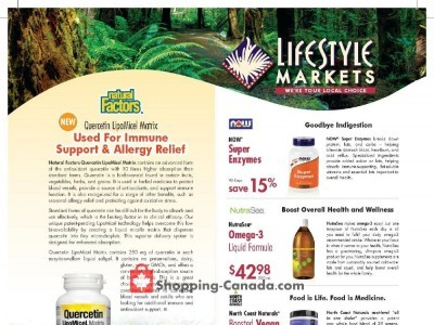 Lifestyle Markets Outdated Flyer Thumbnail