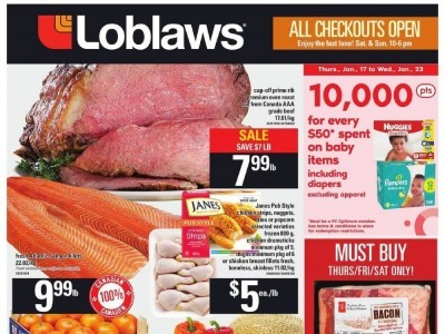 Loblaws Outdated Flyer Thumbnail