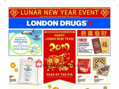 London Drugs Outdated Flyer Thumbnail