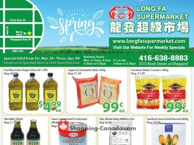 Long Fa Supermarket Outdated Flyer Thumbnail