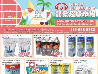 Long Fa Supermarket Flyer Thumbnail