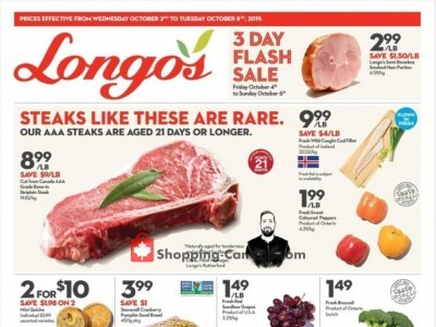 Longo's Outdated Flyer Thumbnail