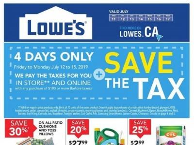 Lowe's Flyer Thumbnail