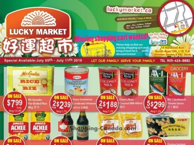 Lucky Market Outdated Flyer Thumbnail