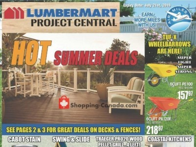 Lumber Mart Outdated Flyer Thumbnail