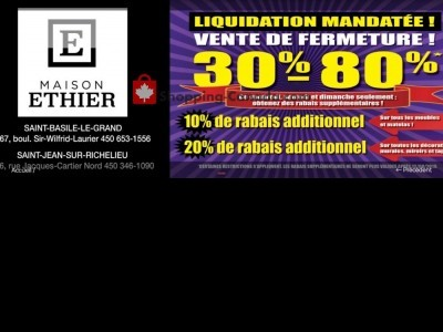 Maison Ethier Outdated Flyer Thumbnail