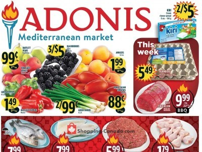 Marché Adonis Outdated Flyer Thumbnail