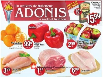Marché Adonis Flyer Thumbnail