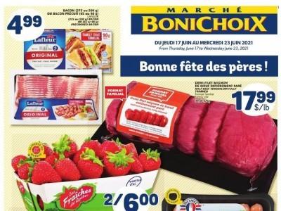 Marche Bonichoix Flyer Thumbnail