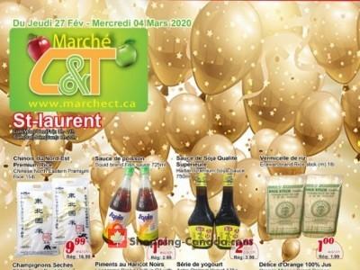 Marche C&T Flyer Thumbnail