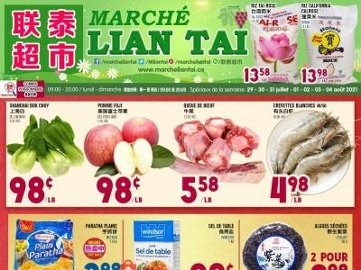 Marché Lian Tai Flyer Thumbnail