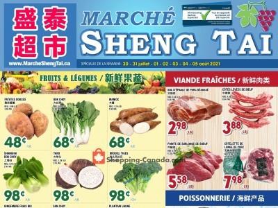 Marché Shengtai Flyer Thumbnail
