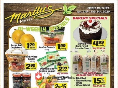 Marilu's Market Outdated Flyer Thumbnail