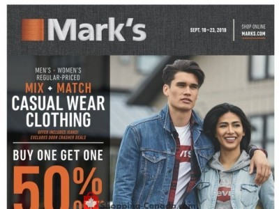 Mark's Work Wearhouse Flyer Thumbnail