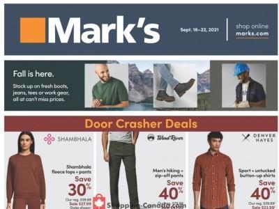 Mark's Work Wearhouse Flyer Thumbnail