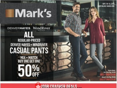 Mark's Work Wearhouse Outdated Flyer Thumbnail