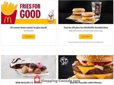 McDonald's Flyer Thumbnail