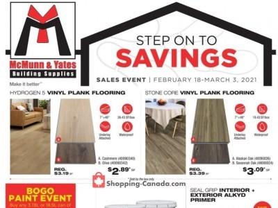 McMunn & Yates Flyer Thumbnail