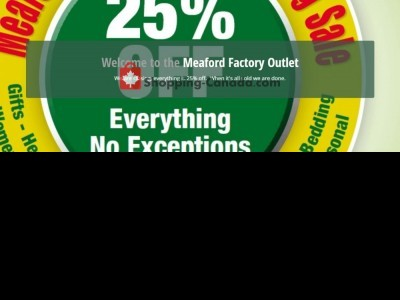 Meaford Factory Outlet Outdated Flyer Thumbnail
