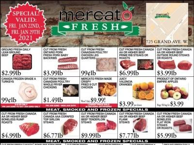 Mercato Fresh Flyer Thumbnail