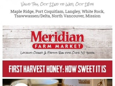 Meridian Meats & Meridian Farm Market Flyer Thumbnail
