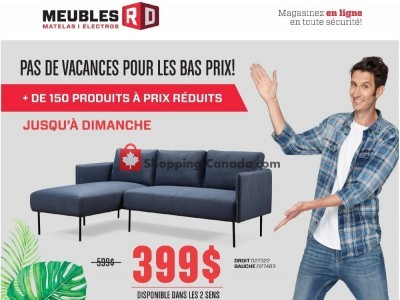 Meubles RD Outdated Flyer Thumbnail