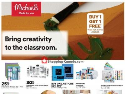 Michaels Flyer Thumbnail