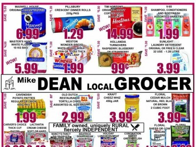 Mike Dean's Local Grocer Flyer Thumbnail