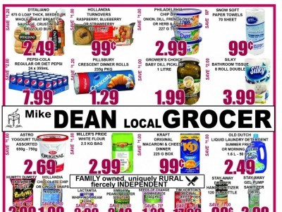 Mike Dean's Local Grocer Outdated Flyer Thumbnail