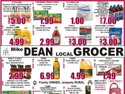 Mike Dean's Super Food Stores Outdated Flyer Thumbnail