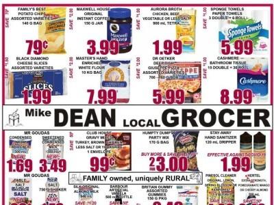 Mike Dean's Super Food Stores Flyer Thumbnail