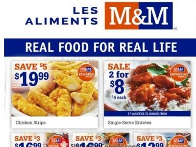 M&M Food Market Flyer Thumbnail