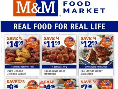 M&M Food Market Flyer Thumbnail