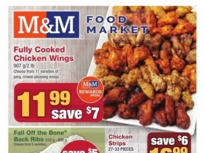 M&M Food Market Outdated Flyer Thumbnail