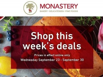 Monastery Bakery Flyer Thumbnail