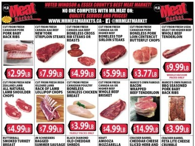 M.R. Meat Market Outdated Flyer Thumbnail